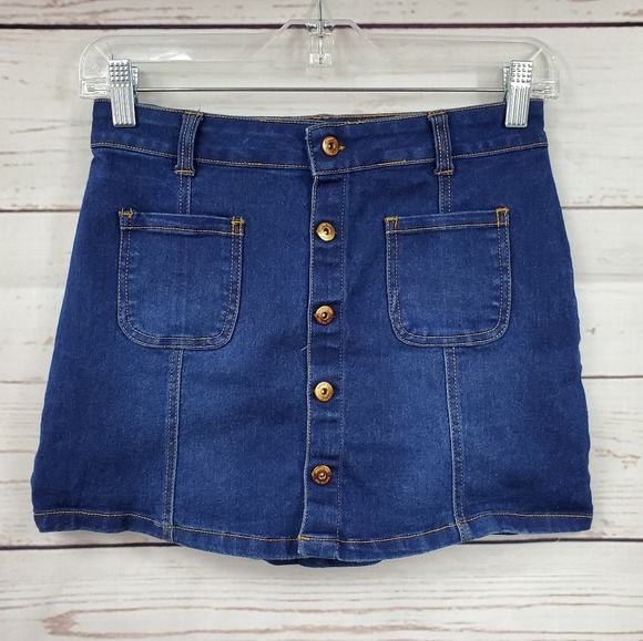 Limited Too Other - Limited Too front button down Jean skirt